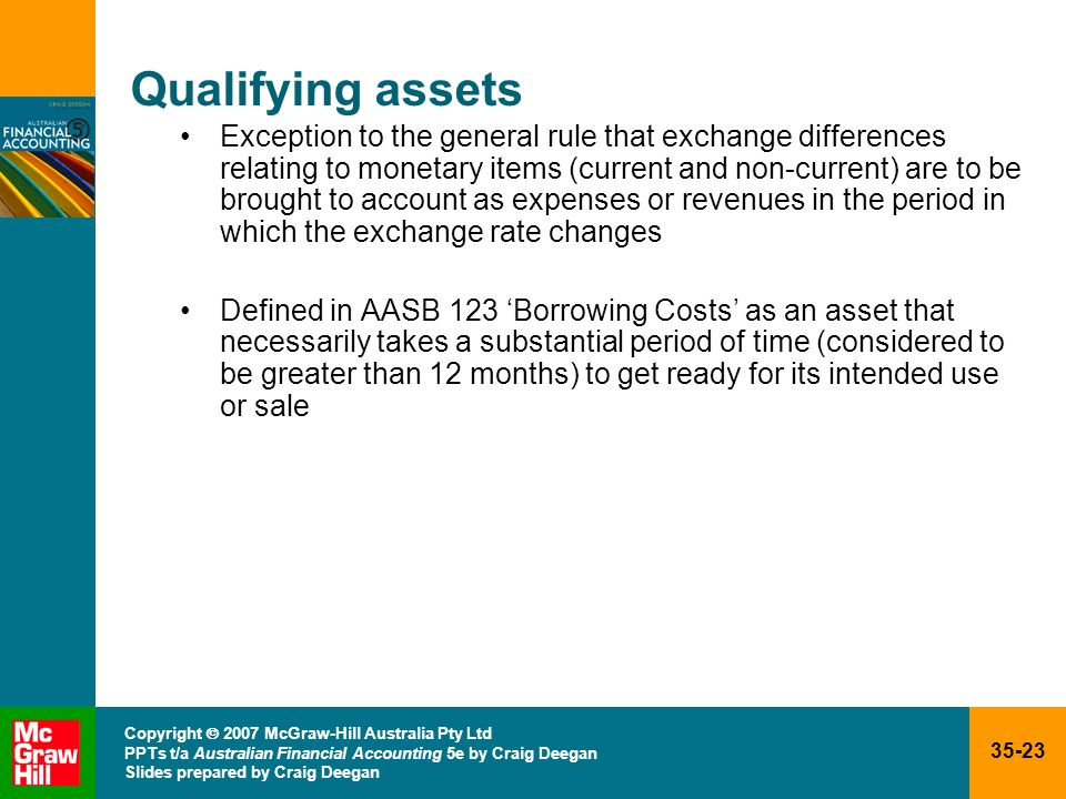 Qualifying assets