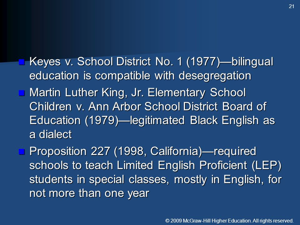 Keyes v. School District No