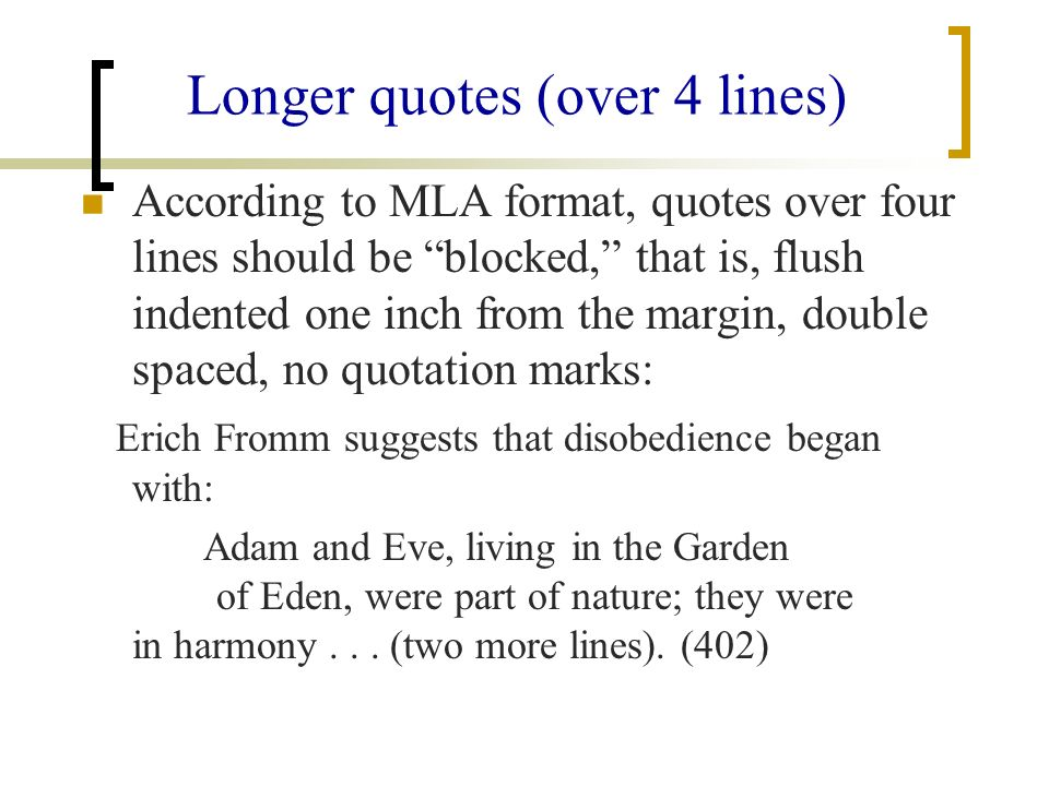 What Is Mla Style The Style Of The Modern Language Association Ppt Download