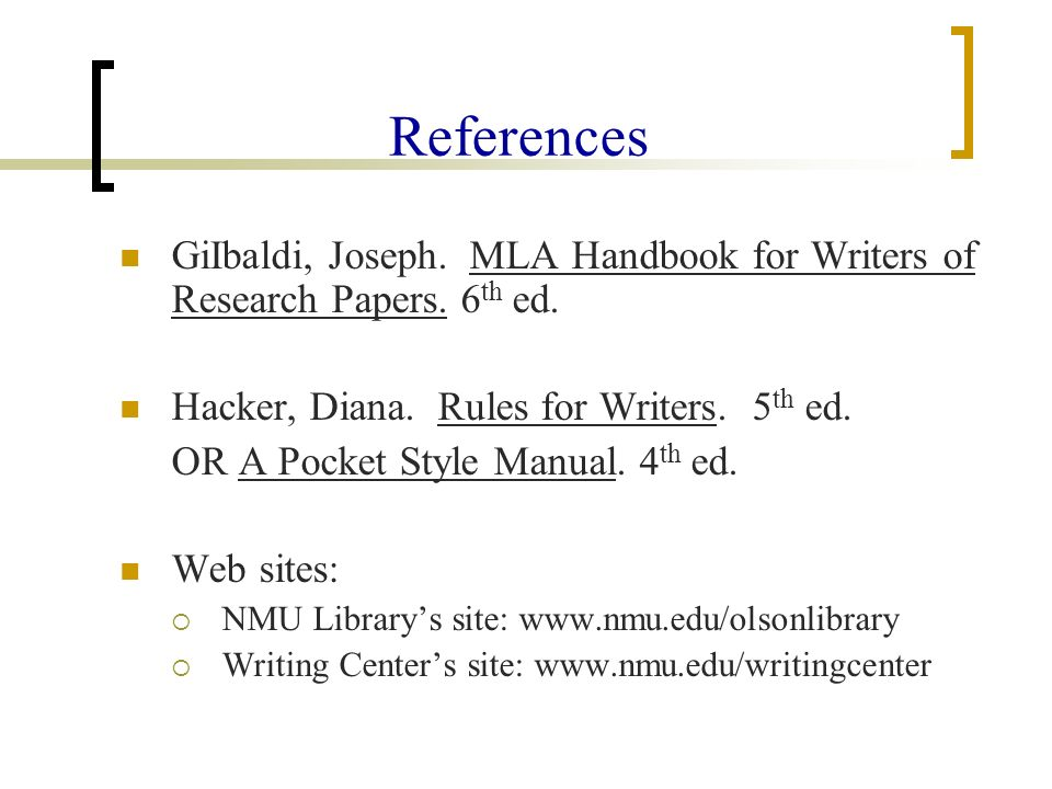 pocket guide to apa style 6th edition