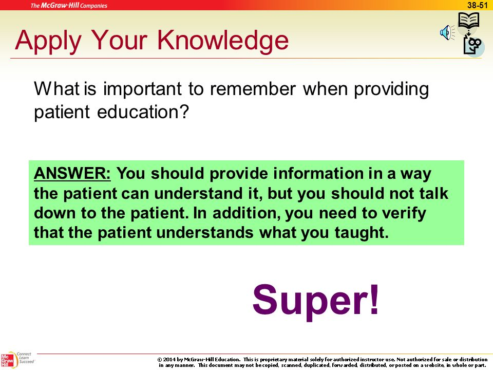Super! Apply Your Knowledge