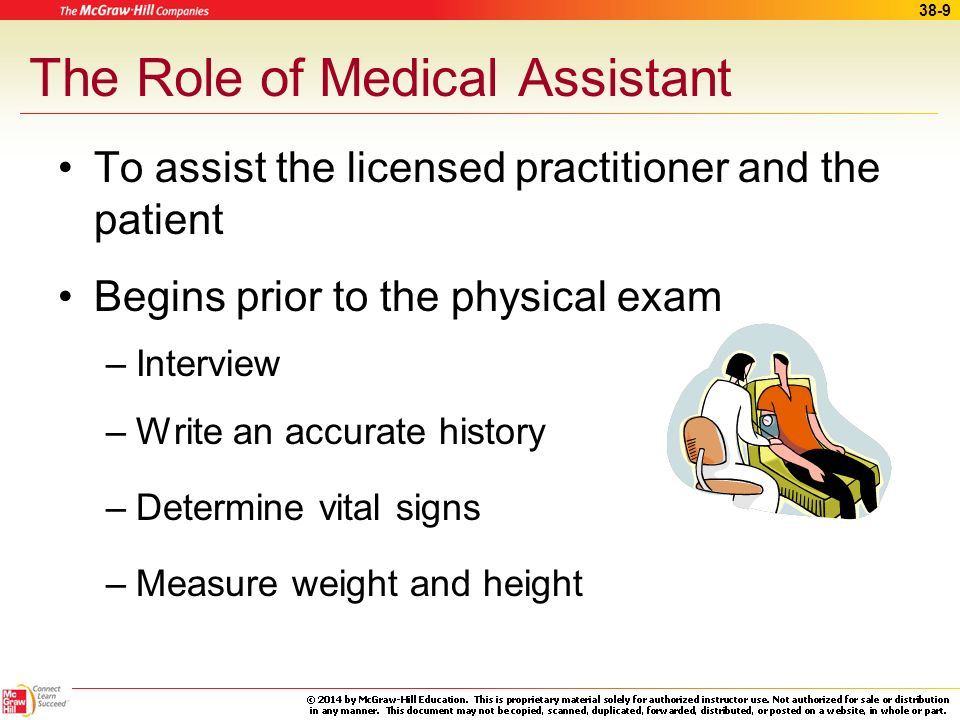 The Role of Medical Assistant