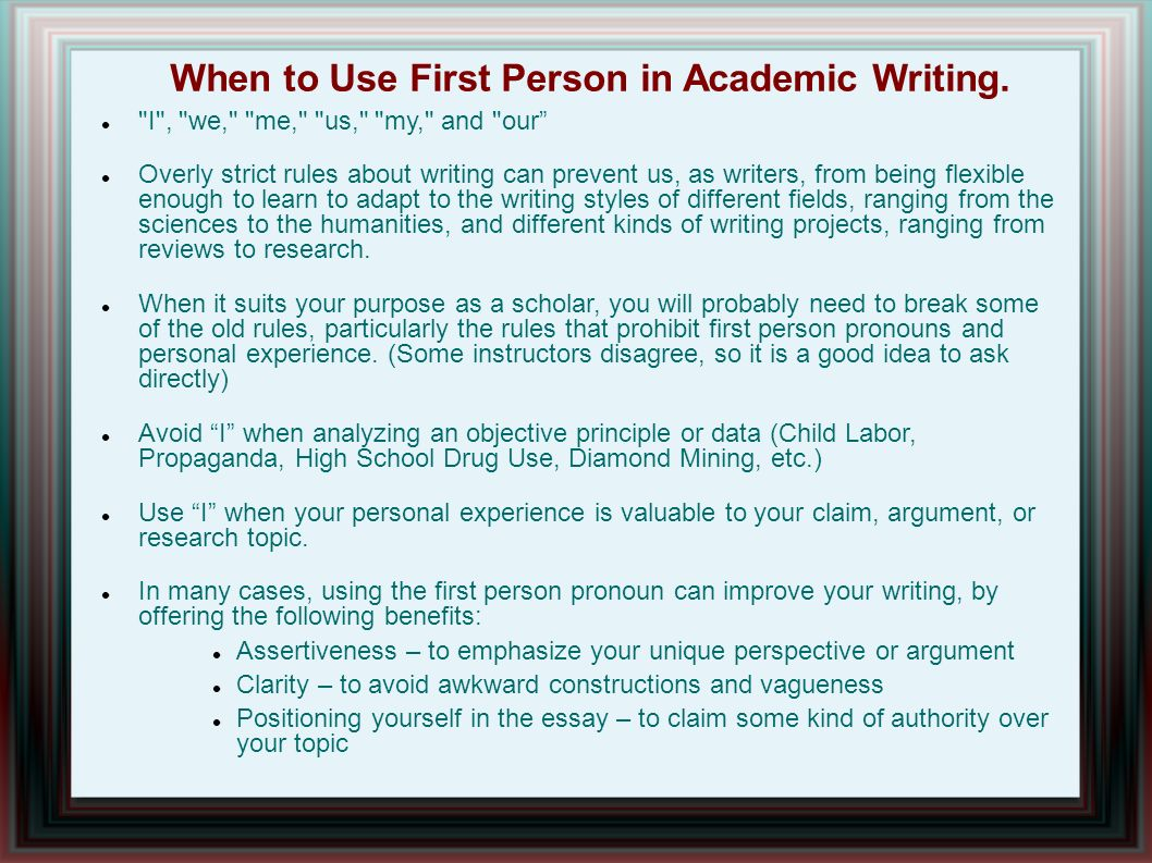 Definition of Academic Research Writing
