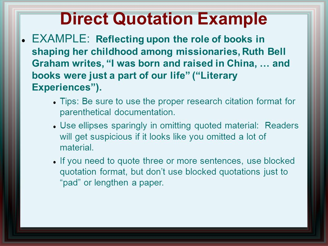 quotations on research paper Apa citation guide in-text citations in-text citations (how to cite within your paper) short quotations.