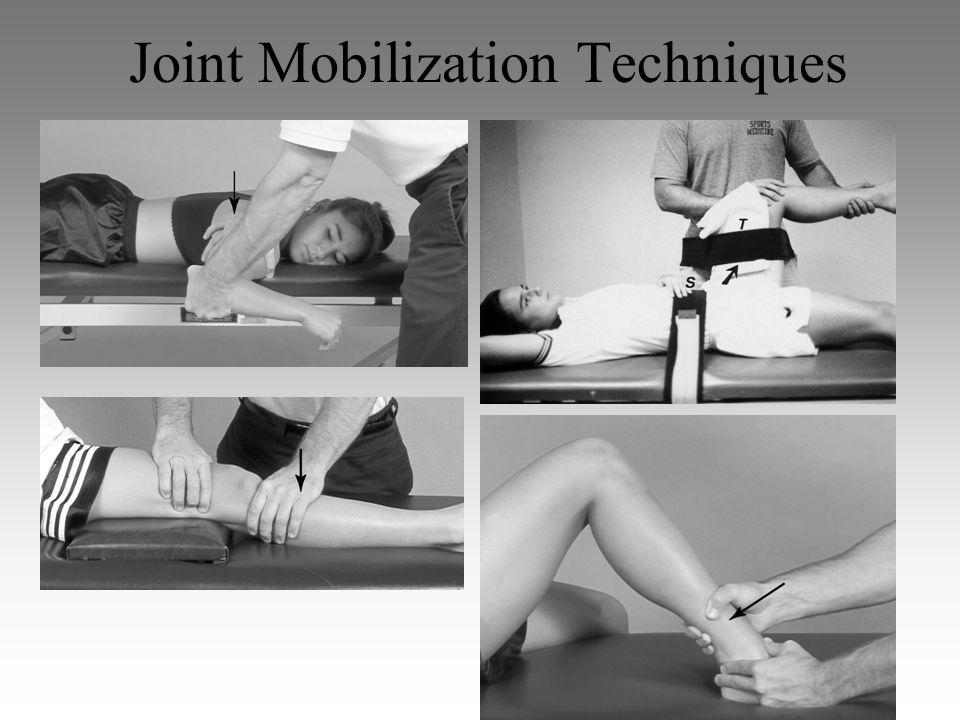 Joint Mobilization Techniques