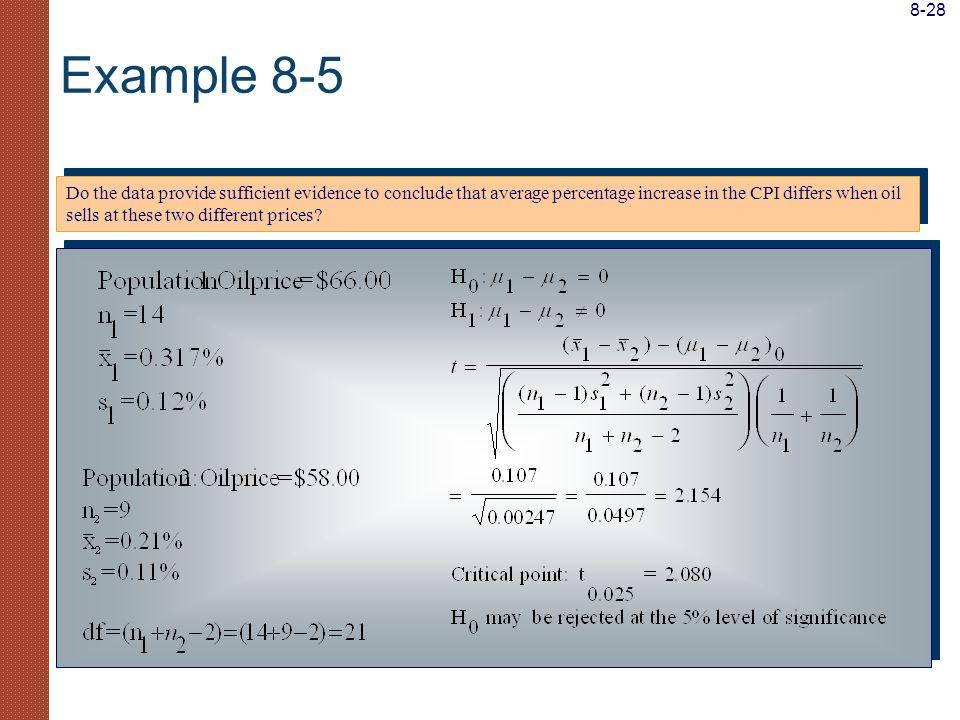 8-28 Example 8-5.