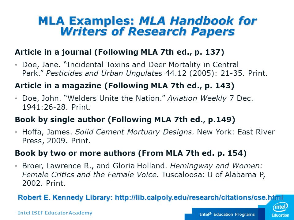 Mla handbook for writers of research papers 7th ed