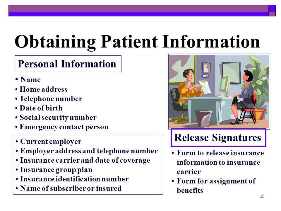 Obtaining Patient Information