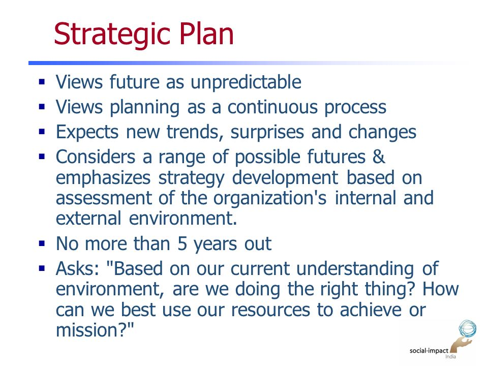 Why Is it Important to Continuously Update a Strategic Plan?