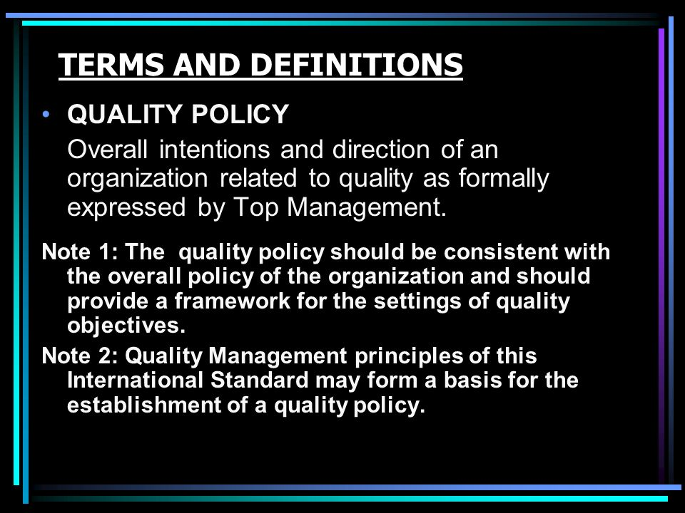 notes 2 definition of total quality Members of the team, professor maurice kogan and mary henkel this note  describes the  total quality management- general definitions  and features 47  appendix 2 — a comparison of three authors'  approaches 287.