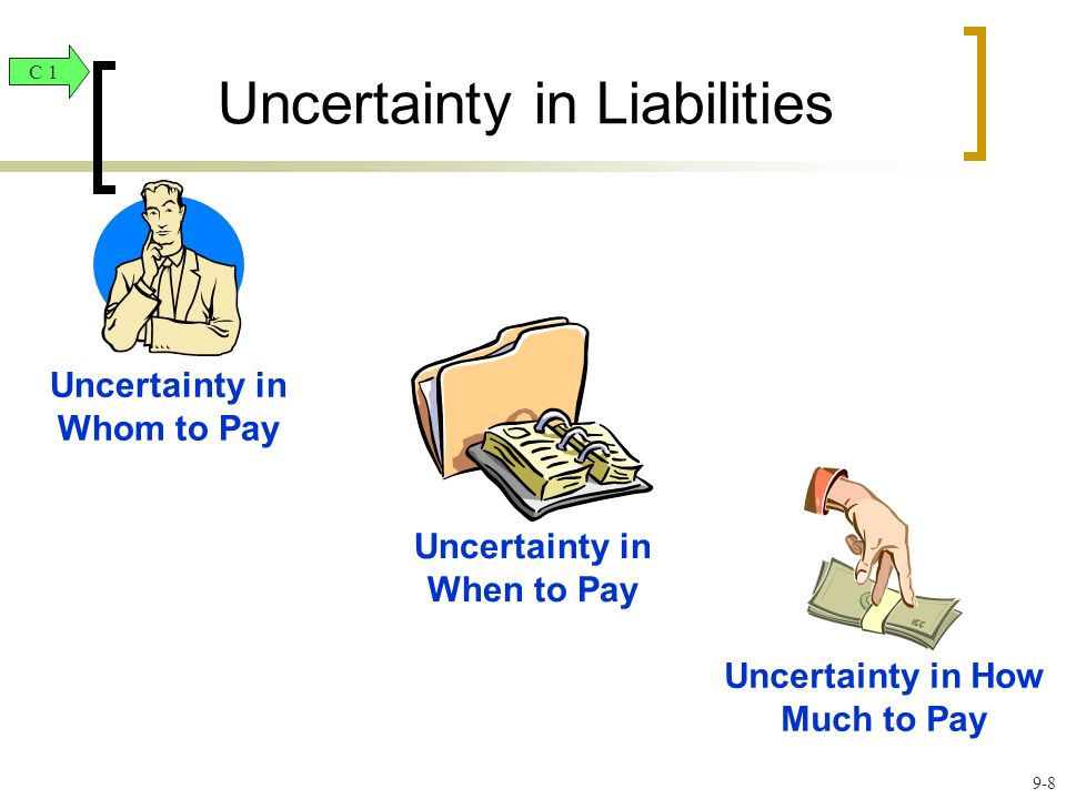 Uncertainty in Liabilities