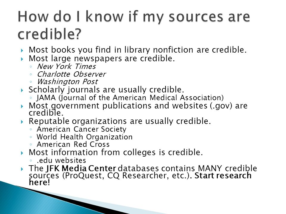 least credible source research paper English iii b shared flashcard set which of the following sources would be the least likely to provide you with credible, unbiased information which of the following could be a big question for a 6- to 10-page multi-source research paper definition what factors explain the.