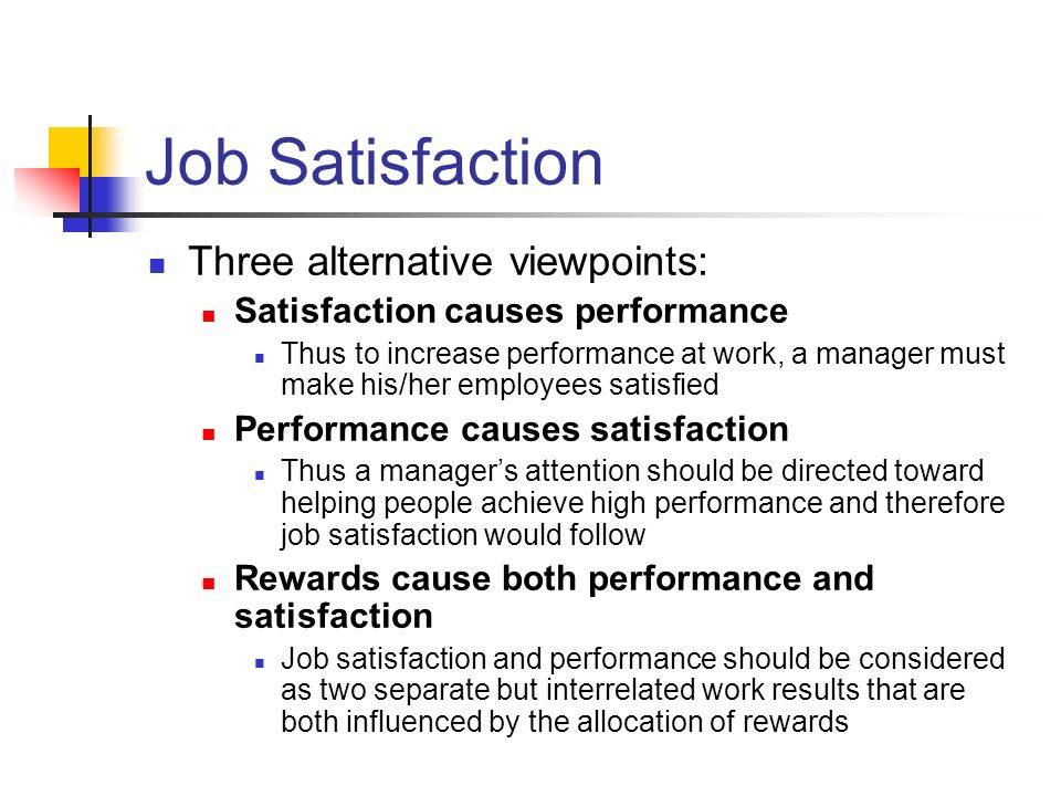 problem statement relationship job satisfaction and job performance 10 introduction this study is carried out the important of motivation to influence job satisfaction in an organization, to understand the relationship between motivation and job satisfaction in an organization in this chapter, will be focusing on research background, research objective, problem statement, and.