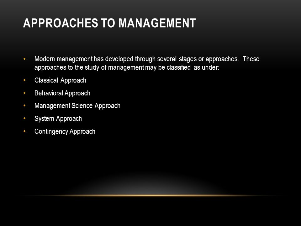 """classical approaches to management By alan s cajes classical and neo-classical approaches the preceding  management theories are part of the general trend to """"understand."""