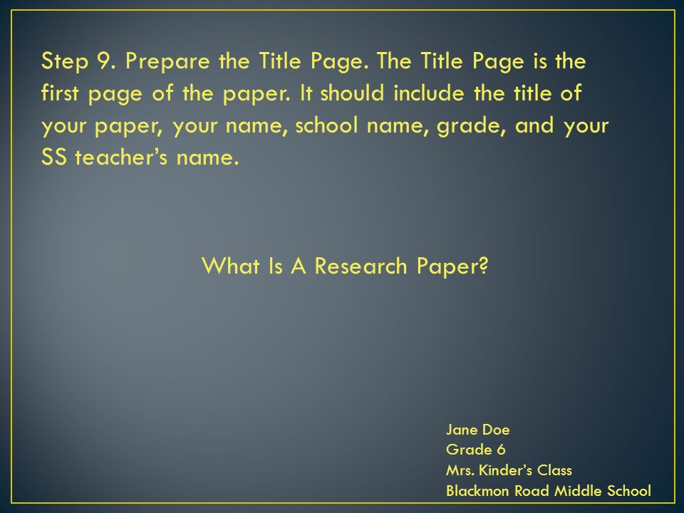 5 major steps in preparing a research paper How to write an effective research paper • getting ready with data • first draft • structure of a scientific paper • selecting a journal • submission • revision and galley proof disclaimer: the suggestions and remarks in this presentation are based on personal research experience research practices and approaches vary.