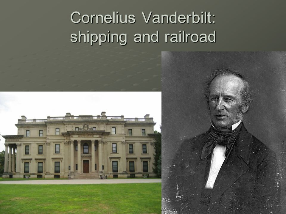 cornelius vanderbilt the master of railroads and shipping Cornelius vanderbilt research papers look into the life of an american tycoon who made his fortune in the railroad and shipping industry during the industrial revolution.