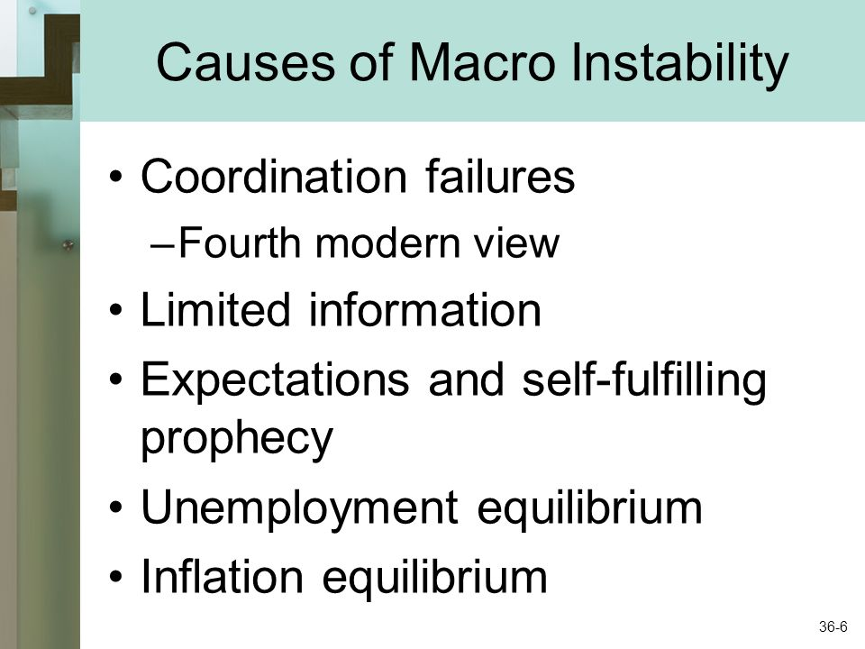 Causes of Macro Instability