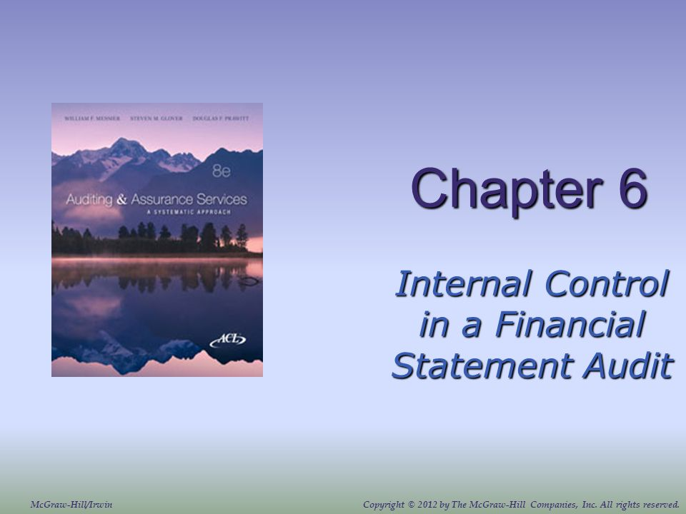 Internal Control in a Financial Statement Audit