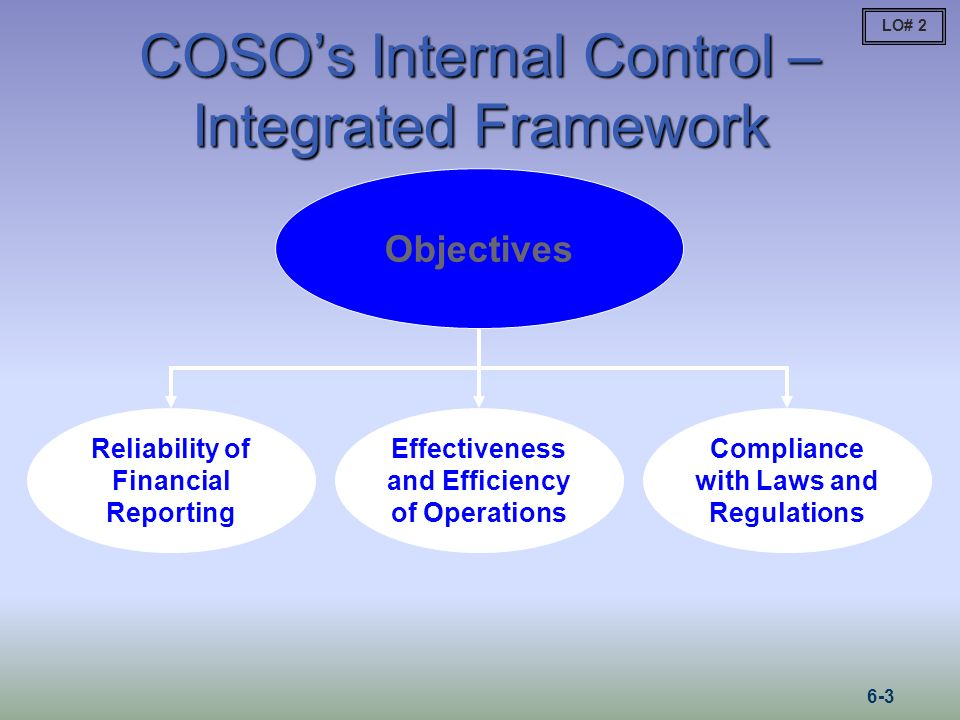 COSO's Internal Control – Integrated Framework