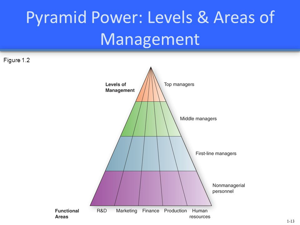 Pyramid Power: Levels & Areas of Management