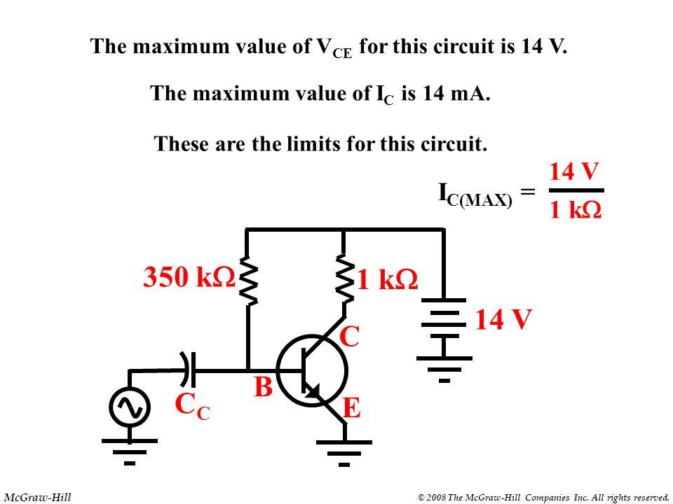 350 kW 1 kW 14 V C B CC E 14 V IC(MAX) = 1 kW