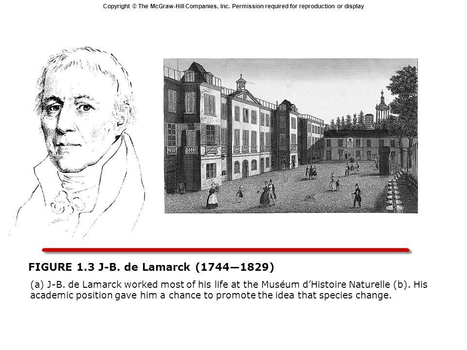 FIGURE 1.3 J-B. de Lamarck (1744—1829)