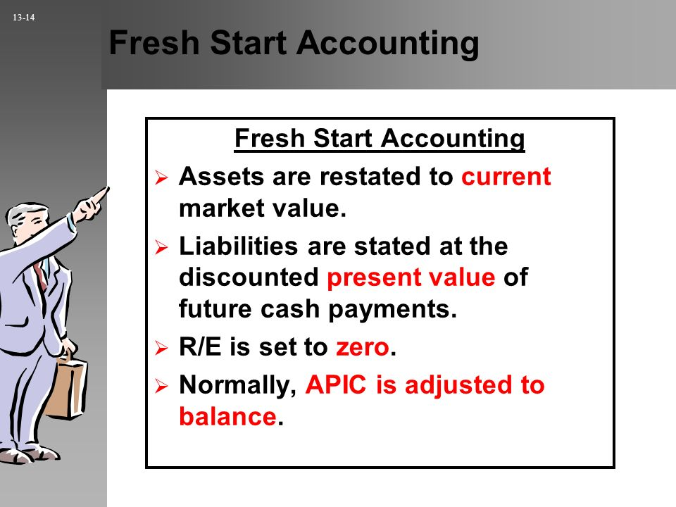 Fresh Start Accounting