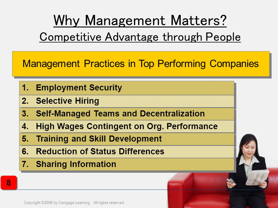 Why Management Matters Competitive Advantage through People