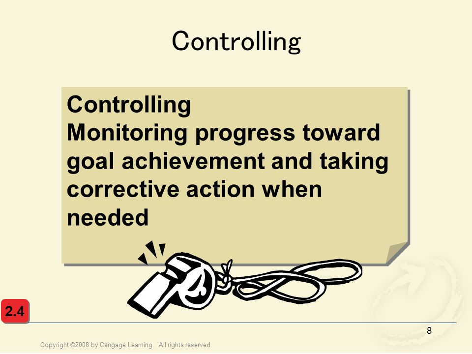 Controlling Controlling
