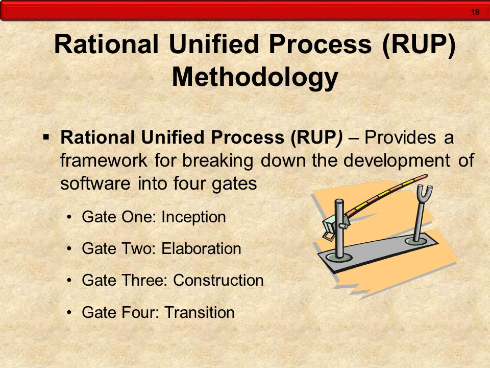 rational unified process rup The rational unified process tm rational unified process is a trademark of rational software rup is a registered trademark of rational software brian gallagher lisa brownsword 2001 by carnegie mellon university 2 ru{/cmmi tutorial - esepg.
