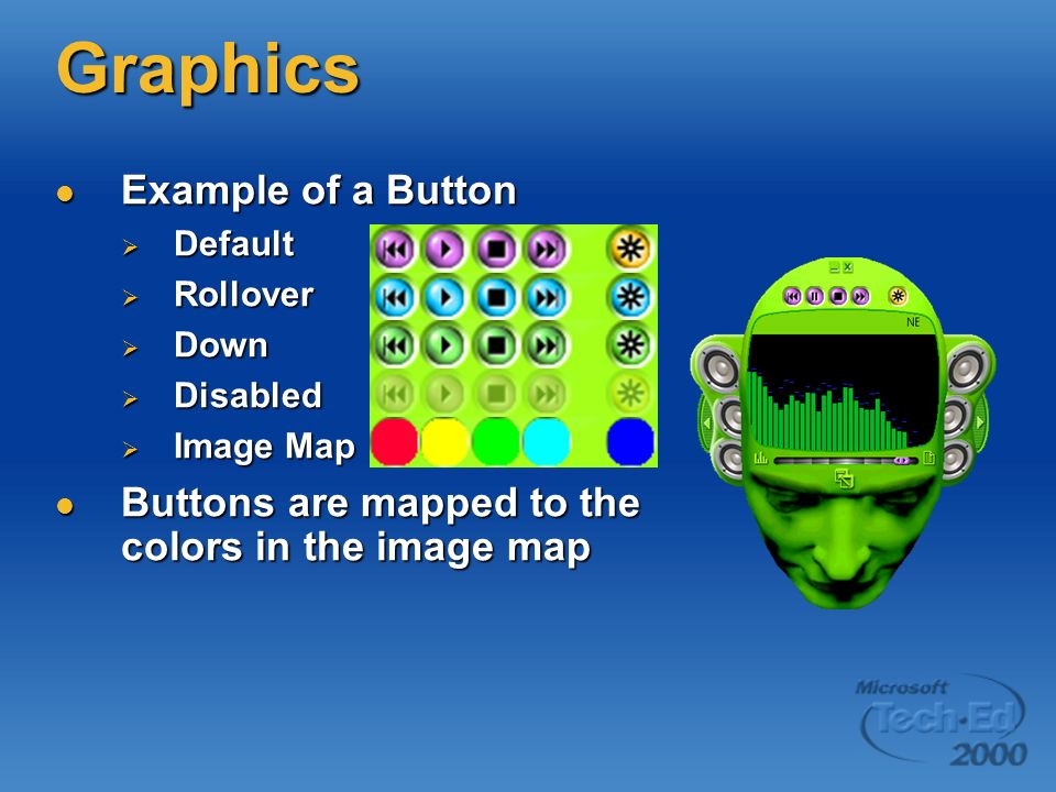 Graphics Example of a Button