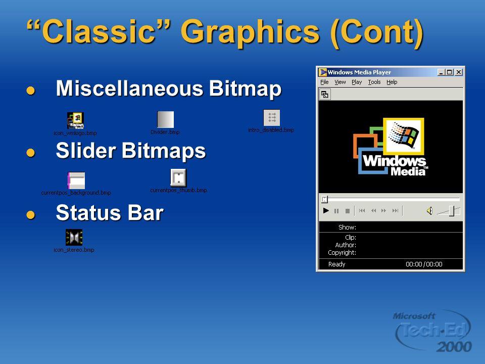 Classic Graphics (Cont)