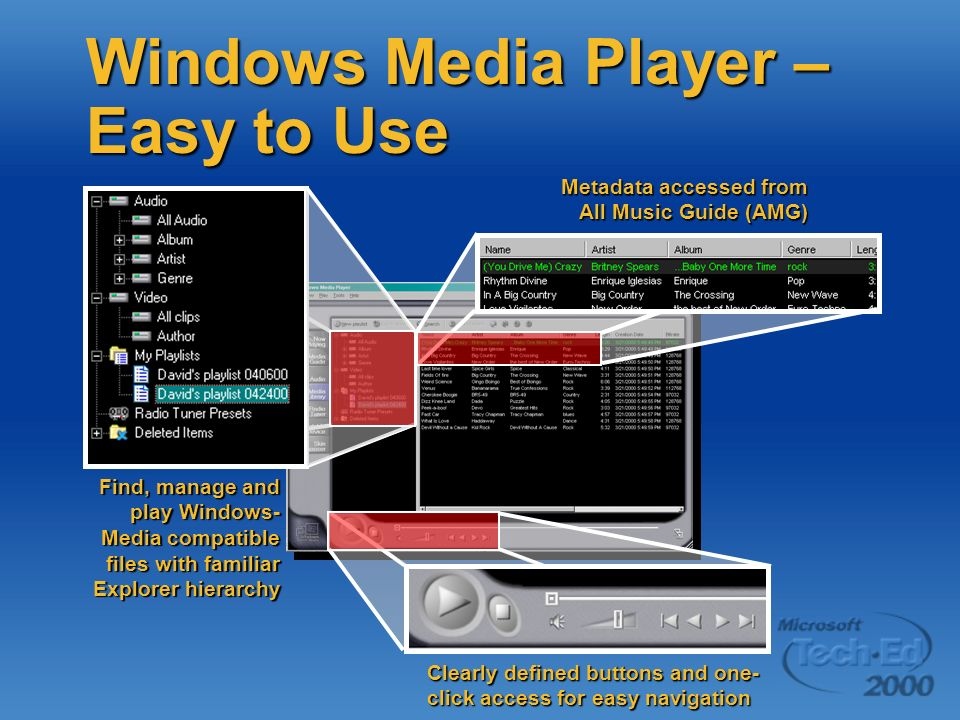 Windows Media Player – Easy to Use