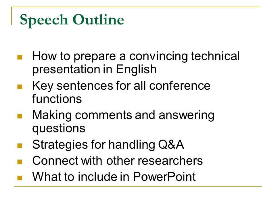 How to write a conference paper academic