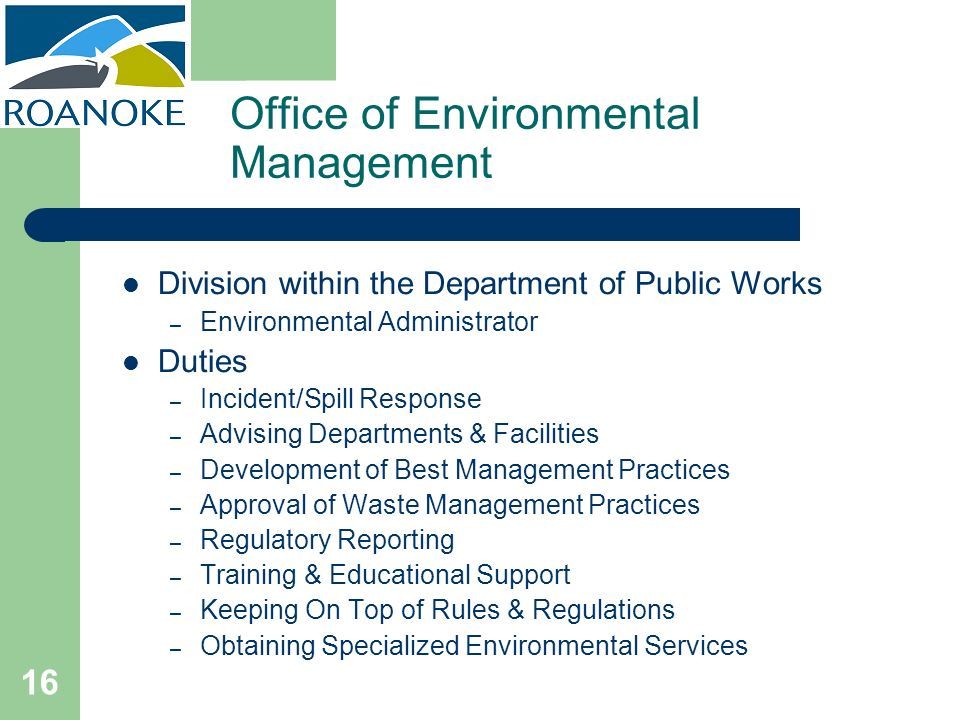 Office of Environmental Management