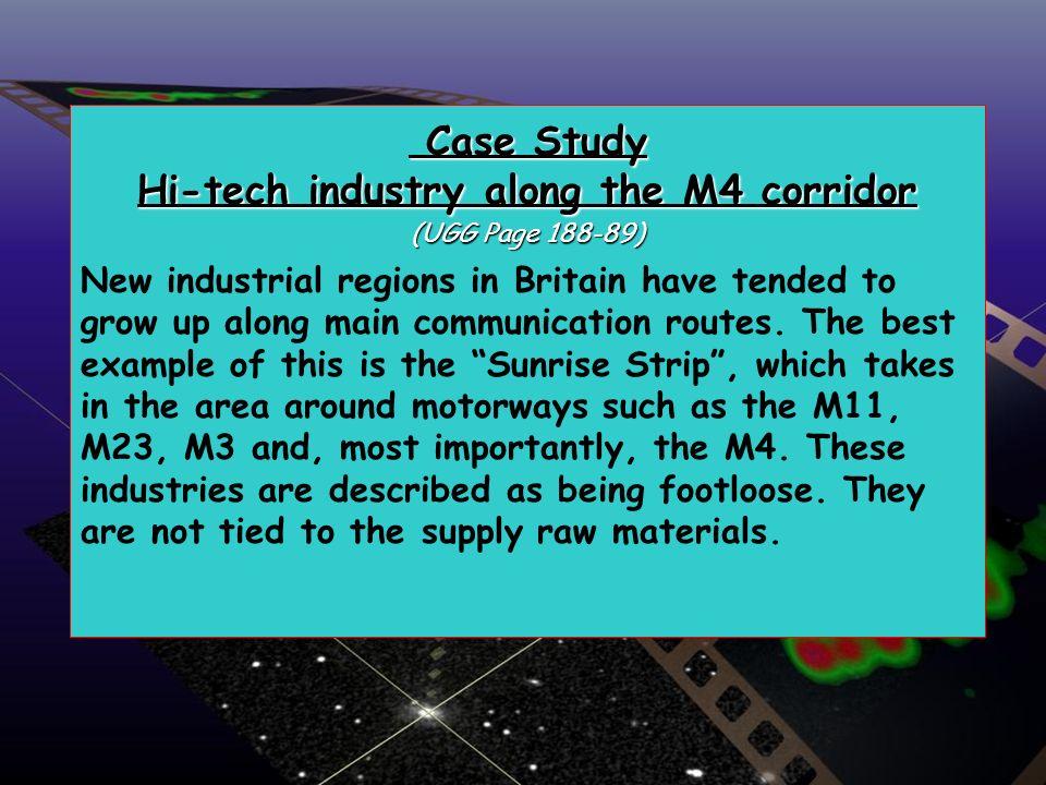 Case Study Hi-tech industry along the M4 corridor