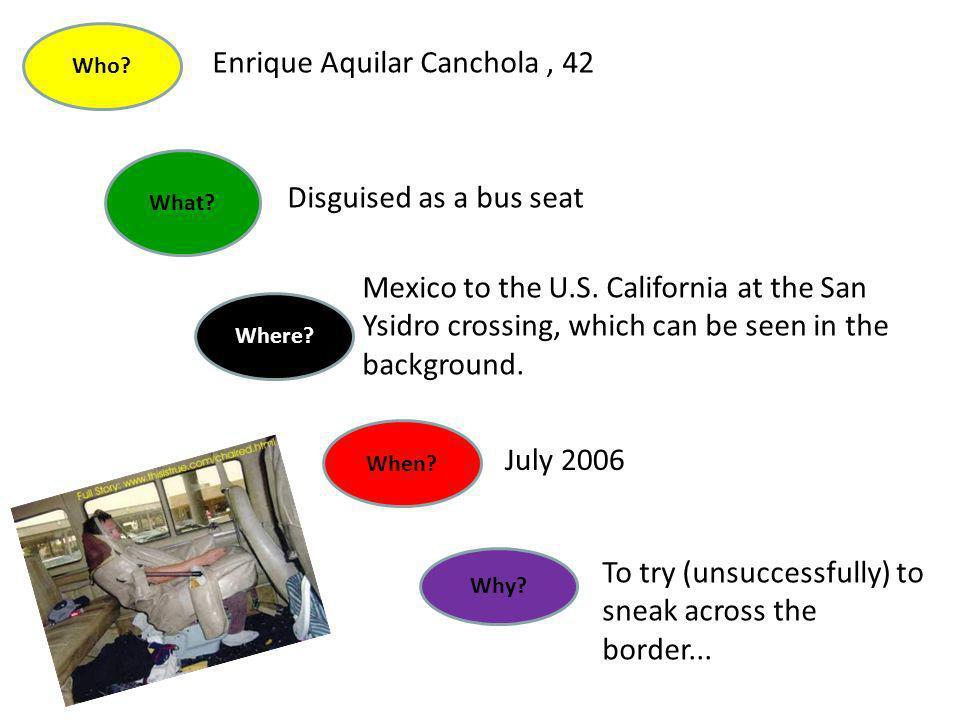 Enrique Aquilar Canchola , 42