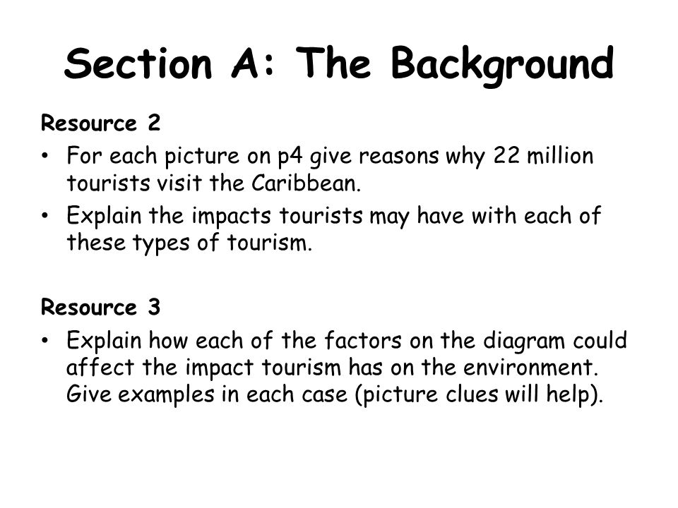 Section A: The Background