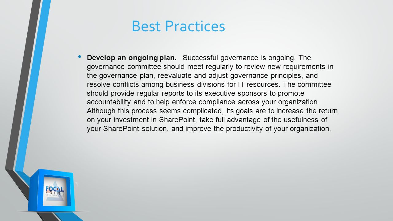 Office365 Is Governance Affected and Where Do We Start? - ppt video ...