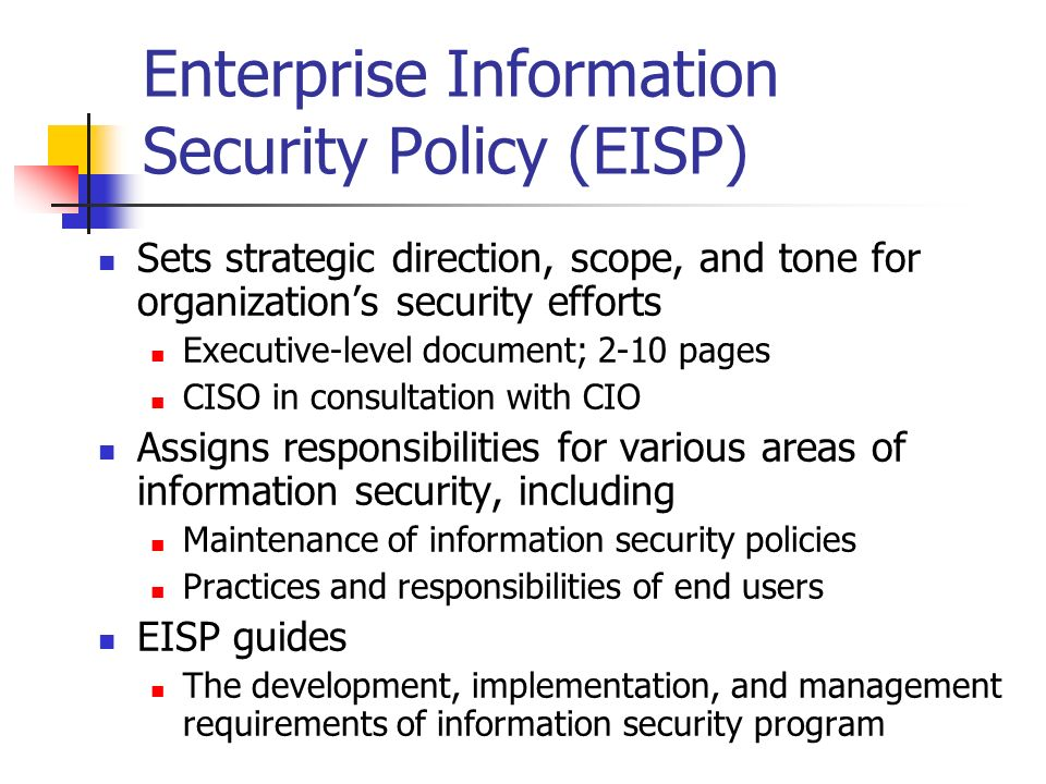 images of example of enterprise security policy