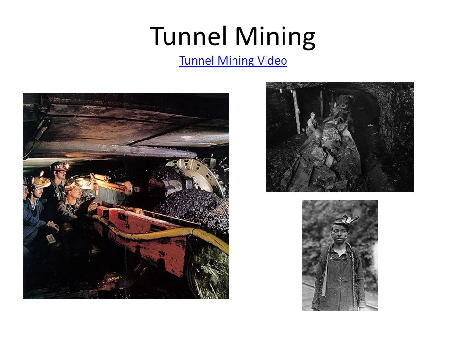 Tunnel Mining Tunnel Mining Video