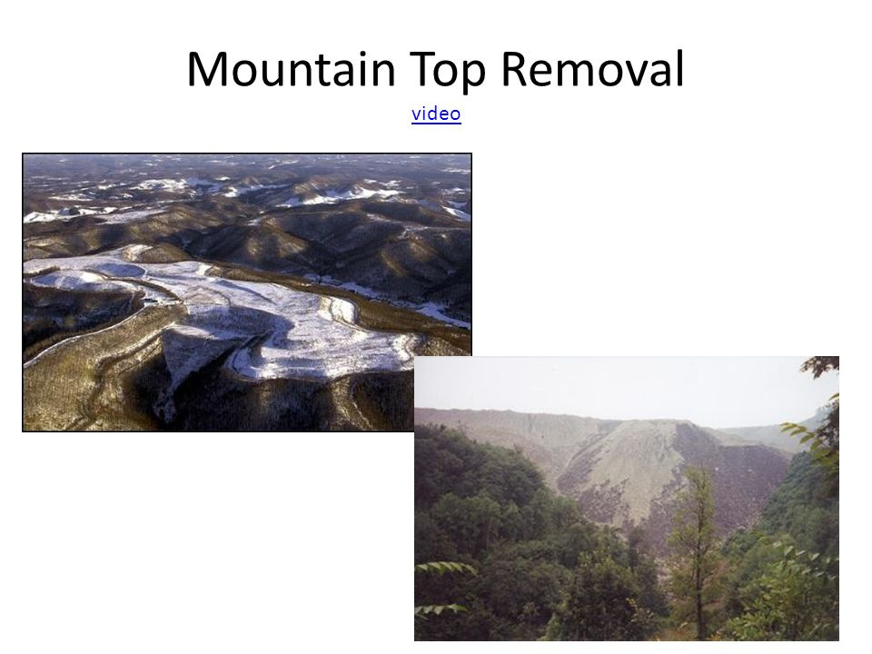 Mountain Top Removal video