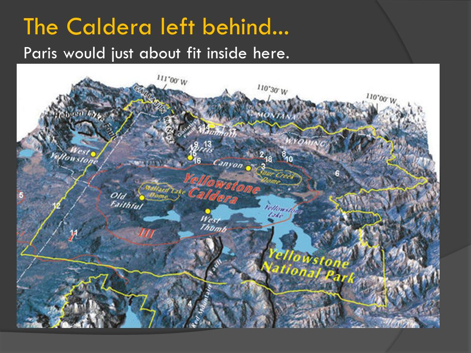 The Caldera left behind...