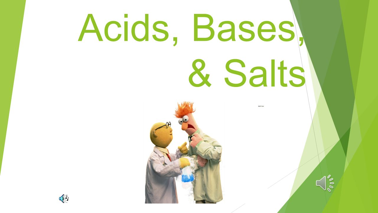 acids bases and salts Technology is essential to scientific knowledge in this interactive tutorial, you will  learn how technology has helped us make scientific  subject area(s):.