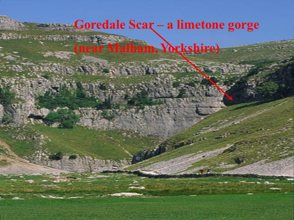 Goredale Scar – a limetone gorge