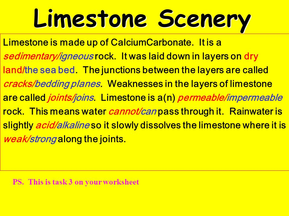 Limestone Scenery