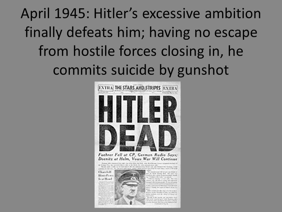suicide d hitler