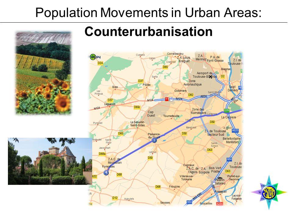 Population Movements in Urban Areas: Counterurbanisation