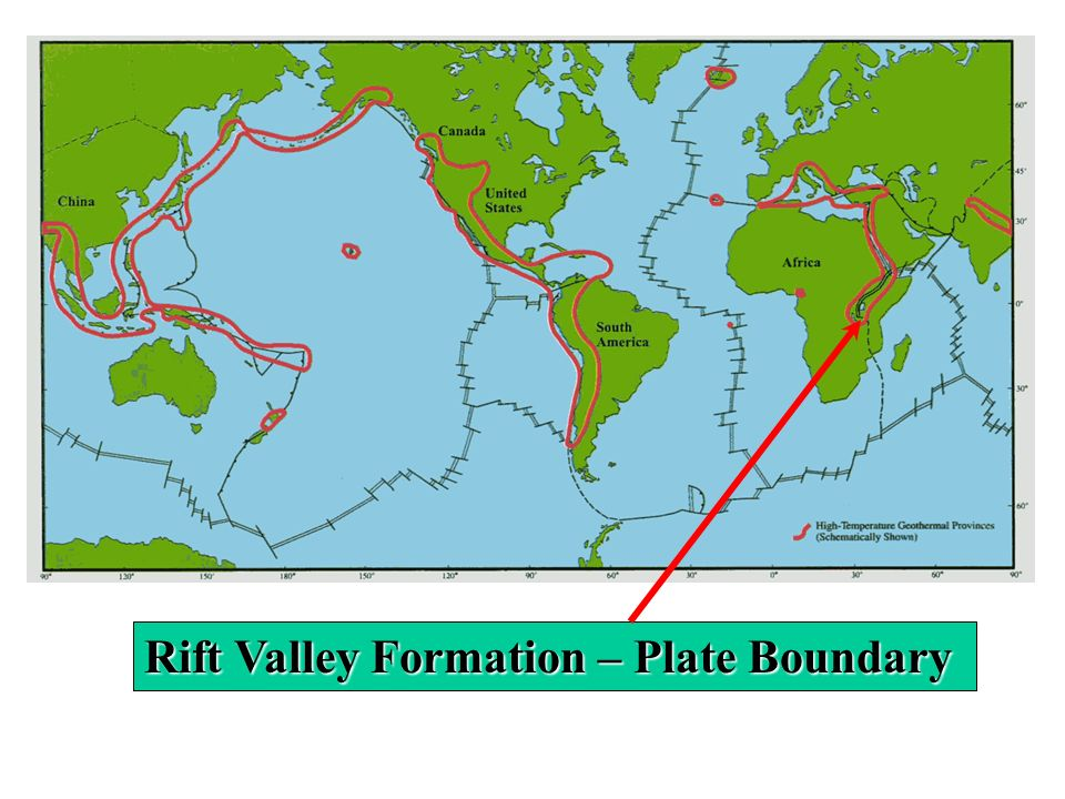 Rift Valley Formation – Plate Boundary