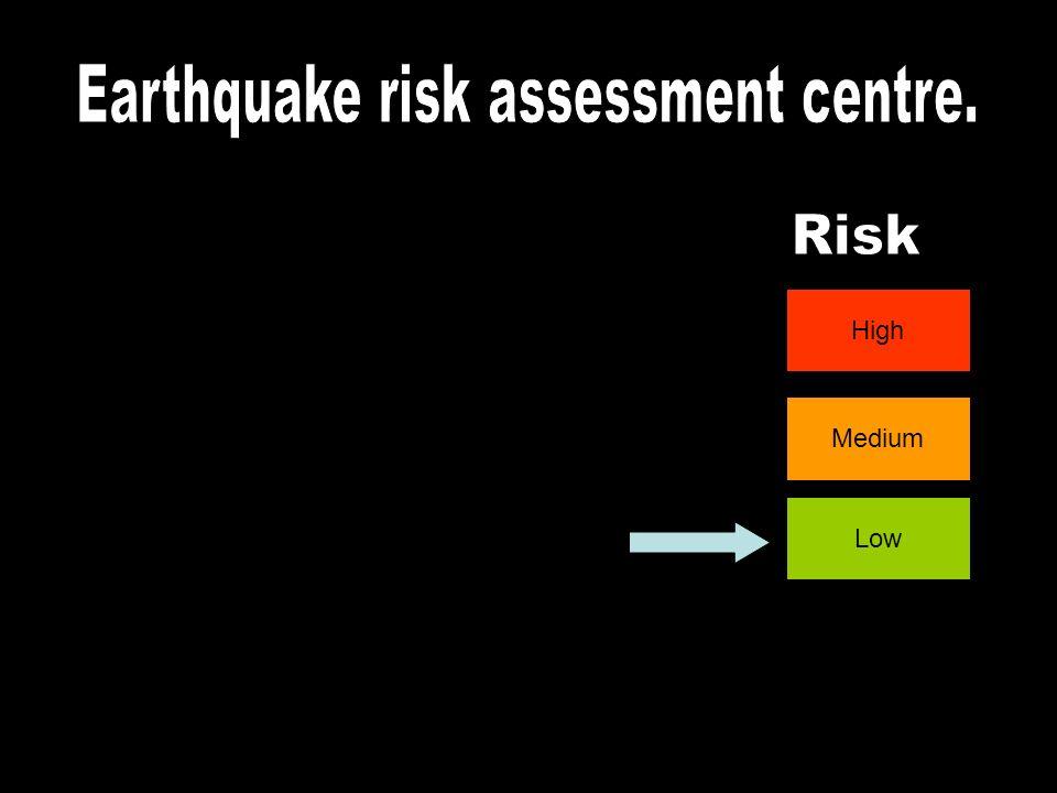 Earthquake risk assessment centre.